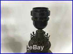 Paire de lampe en céramique torsadée année 1930