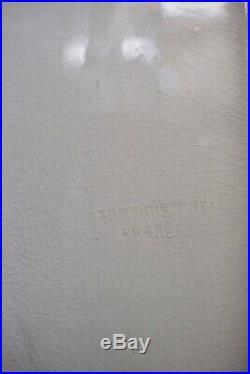 Panthère Art Deco Craquelé Sarreguemines XX 20th Fauve Animalier