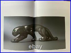 Panthere Primavera craquelé céramique Art Déco Moderniste 1930