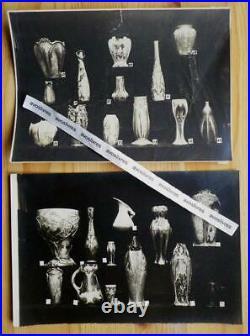 Photos publicitaires Grès MOUGIN FRERES. NANCY Art nouveau & Art Déco Céramique