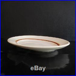 Plat ovale céramique faïence DIGOIN SARREGUEMINES art déco XXe PN France N2976