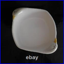 Plat poterie céramique faïence oie canard vintage art déco XXe PN France N2857