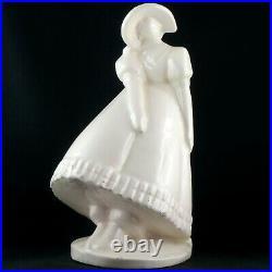 RARE, Sculpture BERENGIER Céramique Femme Art Déco 1930 primavera/lejean/robj