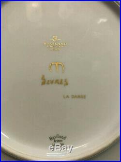 Rare Assiette Jean MAYODON Sevres Haviland Art Deco Old Céramique Ceramic