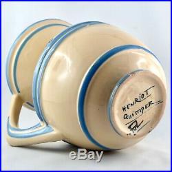 Rare Céramique PICHET Ancien POL HENRIOT QUIMPER Faïence ART DECO 1930/sevellec