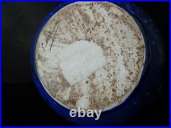 Rare GROS Vase grès céramique signé Gilbert METENIER art nouveau 1900 art deco