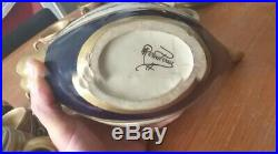 Rare ceramique Alfred renoleau Gres Theiere Tasse sucrier Cruche Art Deco