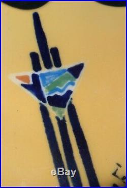 Rare coupelle céramique Jean Ferdinand Pourchier Saint Jean du Desert art déco