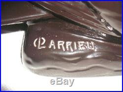 Rare cygne noir en céramique d'Octave Larrieu Art déco