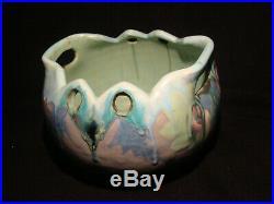 Rare poterie céramique P. Fouillen Quimper Art Nouveau Art Déco