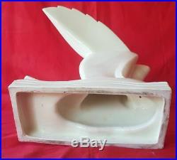 Sculpture mouette céramique art déco par Jacques Adnet (1900-1984)
