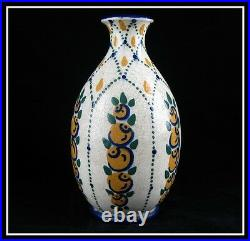 Splendide Vase Art Deco En Ceramique De Savoie 1930 Offre Directe Disponible