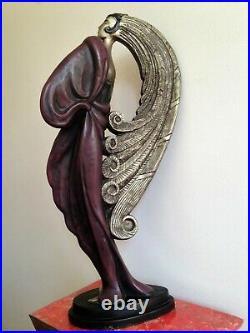 Statue style art déco / nouveau La Noblesse de Claude LeClerc