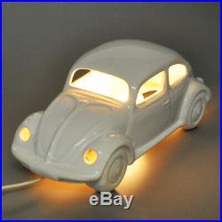 Steinebach Lampe de Table Coccinelle Auto Vintage Porcelaine/Céramique