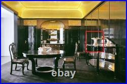 Sue Et Mare Rare Coupe Ceramique Blanche Service Art Deco