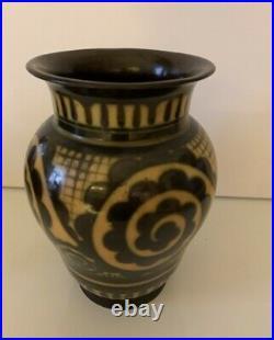 Superbe Vase Ceramique Emaillee De Charles Catteau Keramis