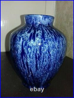 Superbe et ancien vase ceramique signé Keramis art deco / art nouveau