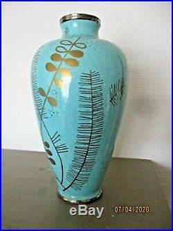 Superbe grand vase Art Déco 1930 céramique Asch Ste Radegonde