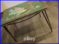 Table Céramique QUIMPER Bel. DELECOURT