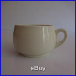 Tasse café thé céramique porcelaine GIEN WAGONS-LITS art déco made in France