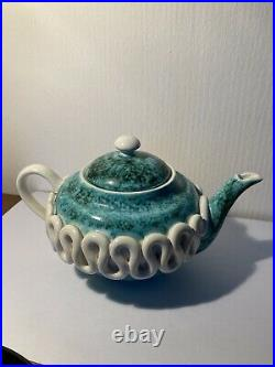 Théière En Ceramique Emaillée SAINTE RADEGONDE Gustave ASH Art Déco