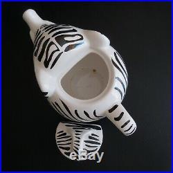 Théière céramique faïence vintage Thé Eléphant depuis 1896 Art déco design N5748
