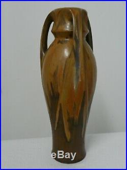 VASE de DENBAC céramique grès art nouveau déco Denert Balichon Vierzon Golfe-JUA
