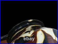 Vase Art déco en céramique émaillée French Art Deco amphora vase