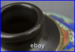 Vase BERGEN en céramique époque Art Deco ou Art Nouveau
