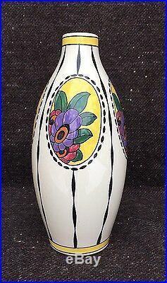 Vase Céramique Art Déco Boch La Louvière / Belgique