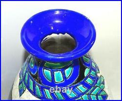 Vase Céramique Charles Catteau Keramis Decor Biches D943 Art Deco 1925 1930
