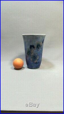 Vase Époque Art Déco Céramique Camille Tharaud Limoges Décor Fleurs De Pruniers