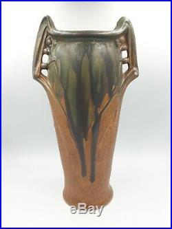 Vase art deco nouveau DENBAC 88 DENERT BALICHON vierzon ceramique jugendstil