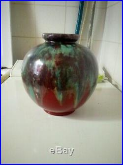 Vase céramique art déco, Félix gète, cab bordeaux