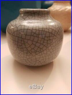 Vase ceramique art deco JAÉGLÉ