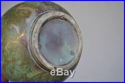 Vase céramique irisée époque 1900 Art nouveau