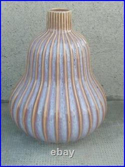 Vase design coloquinte art déco Ceramique ceramic