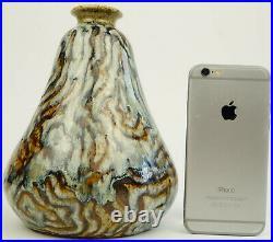 Vase en céramique émaillée Primavera art deco, ceramic vintage, pottery design
