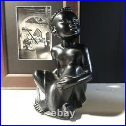 Villeroy et boch Pierre Meauze Africaniste Ceramique Art Deco Era besnard galle