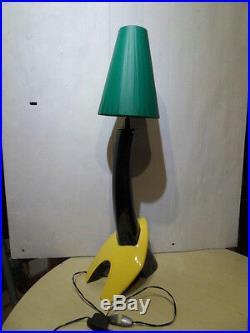 Vintage small floor lamp Lampe zoomorphe art deco moderniste design 40.50.60's